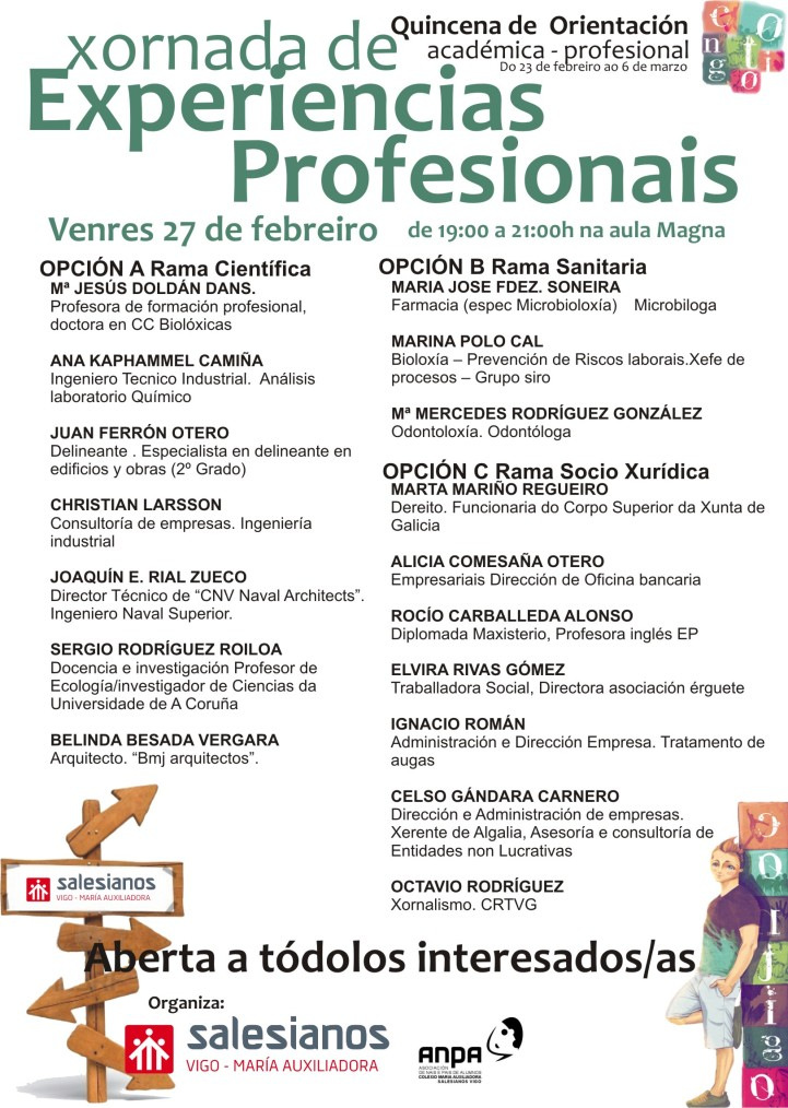 experiencias profesionais2015 CARTEL