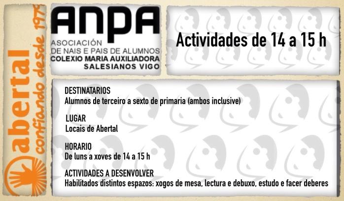 Actividades 14 a 15