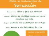 Inscrición visita Serunión